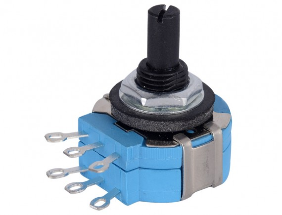Potentiometer (Volume) 100K B104  (6 pins)