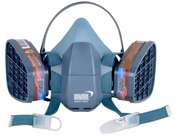 หน้ากากซิลิโคนครึ่งหน้า รุ่น 6001, Silicone Half Mask