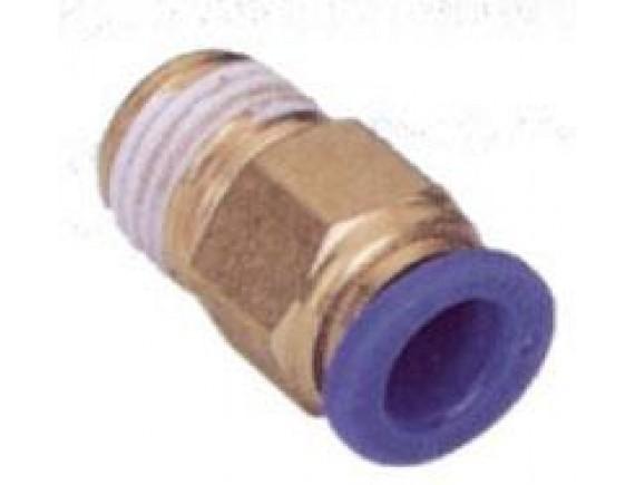 ข้อต่อตรง EPC06-01 (ทองเหลือง)