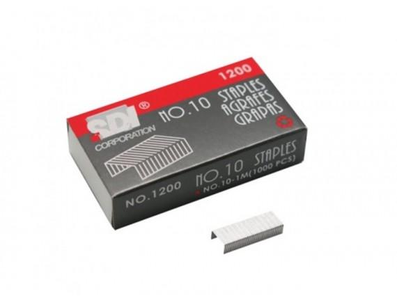 ลวดเย็บกระดาษ SDI 1200 (No.10) 6 กล่อง
