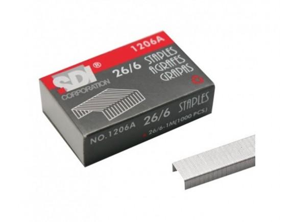 ลวดเย็บกระดาษ SDI 1206A (No.35) 6 กล่อง