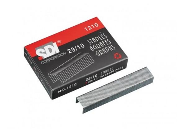 ลวดเย็บกระดาษ SDI 1210 (No.23/10) 6 กล่อง