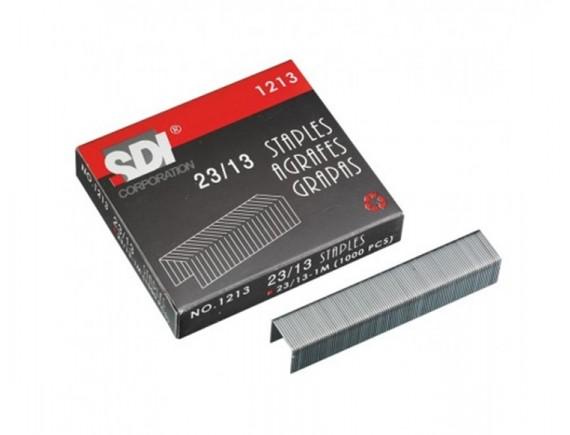 ลวดเย็บกระดาษ SDI 1213 (No.23/13) 6 กล่อง