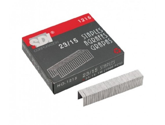 ลวดเย็บกระดาษ SDI 1215 (No.23/15) 6 กล่อง