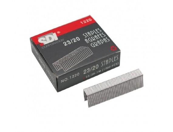 ลวดเย็บกระดาษ SDI 1220 (No.23/20) 6 กล่อง