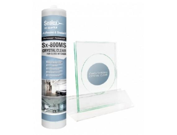 ยาแนว Sx-800MS Crystal Clear